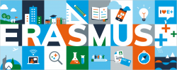 Erasmus -- the picture displays various facets (nature, science, etc.)