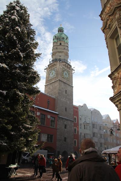 Picture of the City Tower, Copyright © ESN Innsbruck ( Daniel D'Assisi )